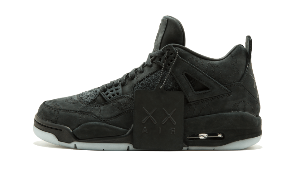 """new product fee7c 8272c How To Cop The Limited """"Black Kaws Jordan 4s"""" – The Sneaker ..."""